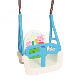 Leagan Multifunctional 3 in 1 Peppa Pig albastru - Tega Baby