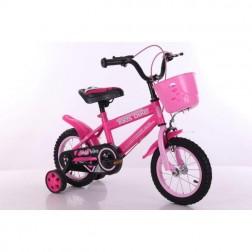 Bicicleta roz cu roti de 30cm