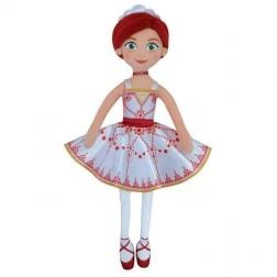 Papusa de plus Felicie Ballerina