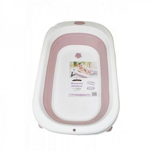 Cadita pliabila Miniworld Pink 81X50X20.5 cm