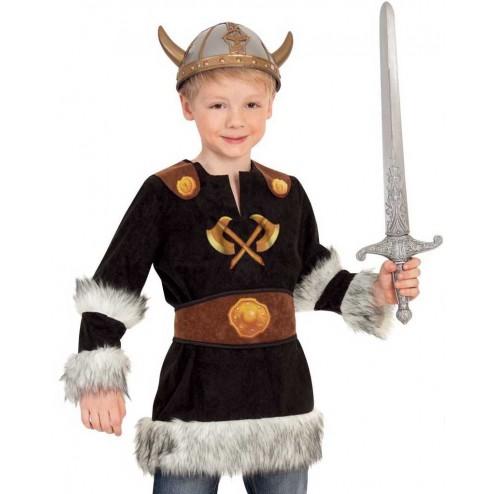 Costum pentru serbare Neinfricatul Viking 128 cm