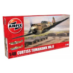 Kit constructie Airfix avion Curtiss Tomahawk MK.II 1:48