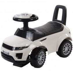 Masinuta fara pedale Land Rover - Sun Baby - Alb