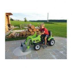 Masinuta electrica copii Tractor excavator cu cupa functionala electrica Jamara 6V 7 Ah