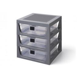 LEGO Organizator cu trei sertare
