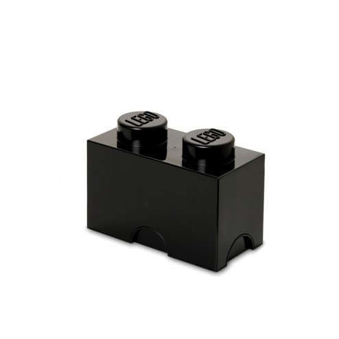 LEGO Cutie depozitare 1x2 culoare Neagră