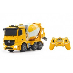 Camion betoniera Mercedes Arocs cu telecomanda Jamara 404930 scara 1:20
