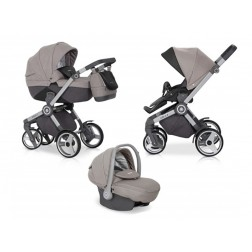 Carucior copii 3 in 1 MyKids Expander GREY FOX 06
