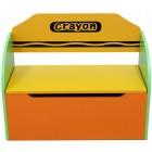 Bancuta copii pentru depozitare jucarii Green Crayon Style