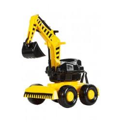 Excavator rotativ Heavy Duty Super Plastic Toys