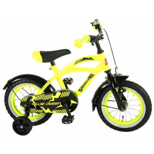 Bicicleta baieti Cruiser 12 inch Galben - Volare