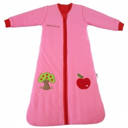 Sac de dormit cu maneca lunga Apple of my eye 0-6 luni 2.5 Tog