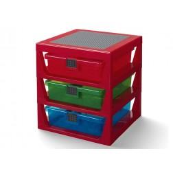 Cutie depozitare LEGO  cu trei sertare  (40950001)