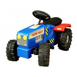 Tractor cu pedale Hard Truck blue