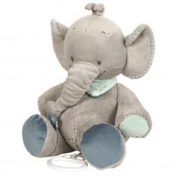 Jucarie muzicala din plus Elefantelul Jack 30 cm