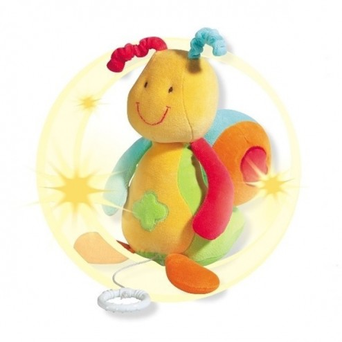 Jucarie muzicala Melc - Brevi Soft Toys