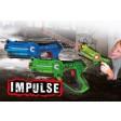 Set 2 pusti cu laser Jamara 410036 Impulse Laser Battle Set