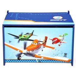Ladita din lemn pentru depozitare jucarii Disney Planes
