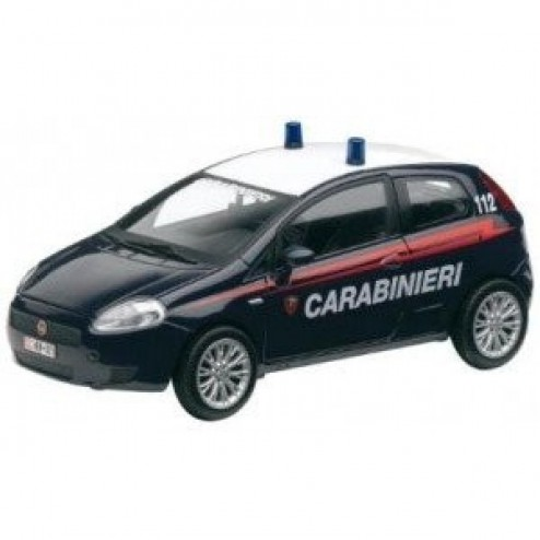 Kit constructie macheta auto Alfa Romeo 159 Carabinieri 1:18 - Mondo Motors