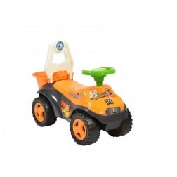 Masinuta de impins Sand Beach Car Orange 8206