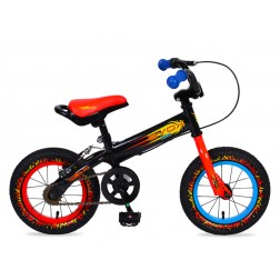 Bicicleta Copii Moni Balance 2 In 1 On Fire