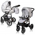 Carucior Crooner Prestige 2 in 1 - Vessanti - Light Gray