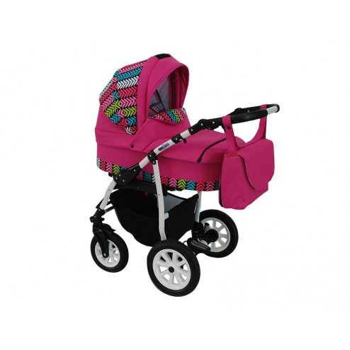 Carucior copii 3 in 1 MyKids Germany Roz Color