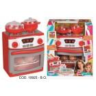 Aragaz functional cu cuptor electric si accesorii de gatit, RS Toys