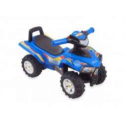 Masinuta de impins copii Baby Mix ATV Quad URHZ551 Blue