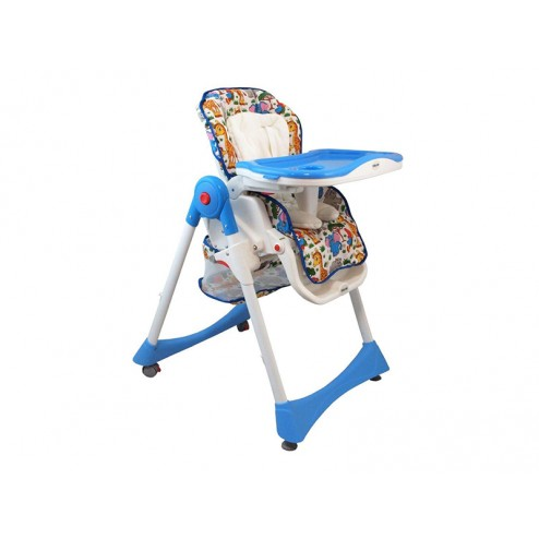 Scaun de masa pentru copii Baby Mix YB 602 2468 Blue