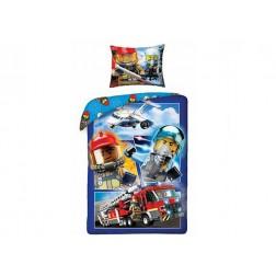 Lenjerie de pat LEGO City (LEG-822)