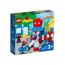 LEGO Baza lui Spider-Man
