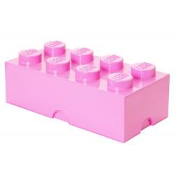 Cutie depozitare LEGO 2x4 roz deschis (40041738)