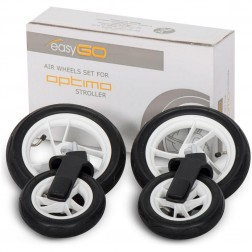 Set de roti gonflabile pentru carucior Optimo - Easy Go