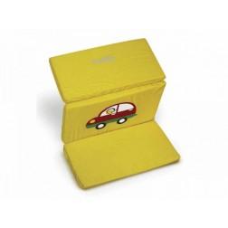 Saltea pentru joaca cu geanta de transport in doua culori Just Baby galben