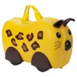Animal cu roti tip Valiza pentru bagaje Leopard