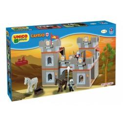 Set constructie Plus Castel medieval 168 piese - Unico