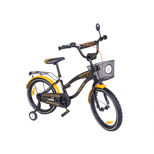 Bicicleta copii MyKids Toma Exclusive 1802 Orange