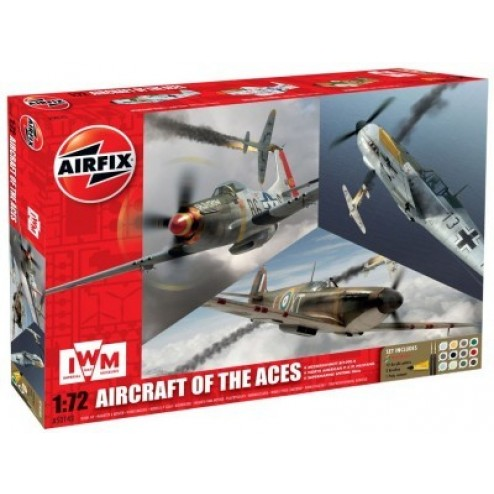 Kit constructie avion - Set 3 avioane Airfcraft Of the Aces