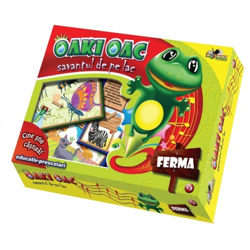 Joc Oaki Oac Savantul de pe Lac Ferma