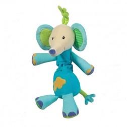 Jucarie muzicala Elefantel - Brevi Soft Toys