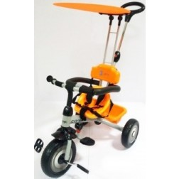 Tricicleta 3cycle-Carello Portocaliu