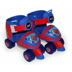 Patine cu rotile pentru copii Saica Spiderman marime 24-29