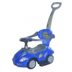 Masinuta multifunctionala 3 in 1 Ride On Blue