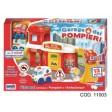 Garaj de pompieri cu 2 vehicule incluse, RS Toys