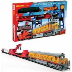 Set trenulet electric constructii cu locomotiva, Mehano T741