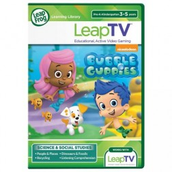 NOU! LeapTV Joc Bubble Guppies
