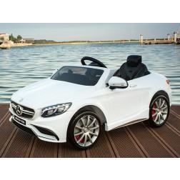 Masina Electrica Moni Mercedes Benz AMG S63 Alb