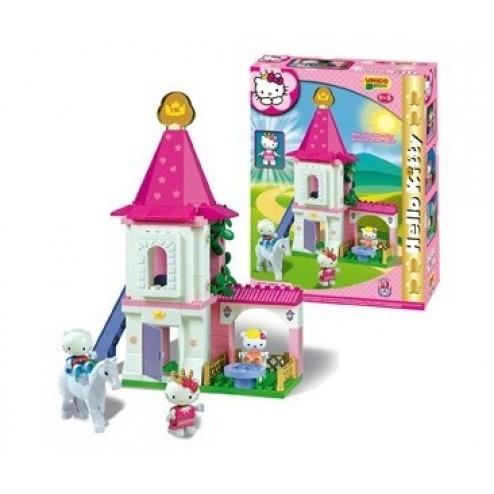 Set constructie Unico Plus Hello Kitty Castel