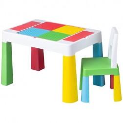 Set masuta cu scaun Multifun, Tega Baby, Multicolor